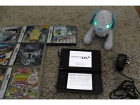 L@@K Nintendo DSi XL games console with 10 Games and Wappy dog Game with Toy