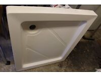 white shower tray for sale