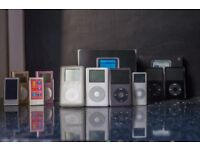 Huge iPod collection - Classic, nano, shuffle etc
