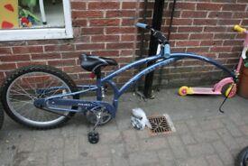 Childs folding tag bike