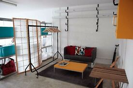 Studio/work space in Brixton to rent - 4 days per month £295 ( no bills )