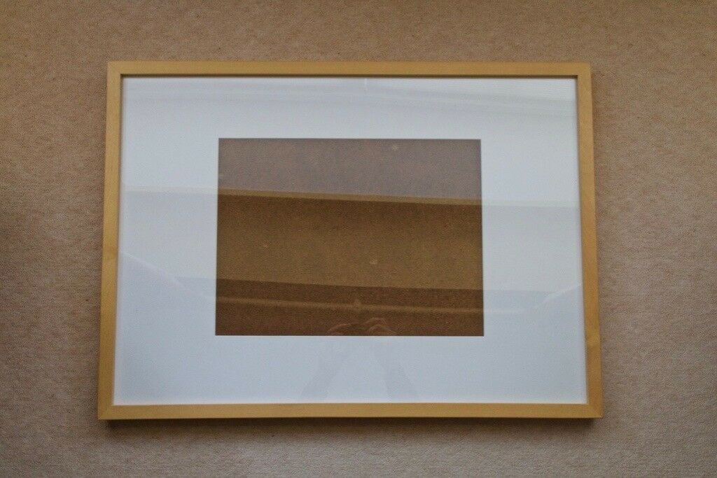 Free To Collect Two Habitat Wooden Photo Poster Frames For A3 A2 Size Prints
