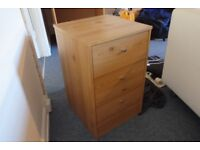 Quality Pre-Assembled Bedroom Furniture For Sale Inc. Wardrobe, Drawers, Bedside Table & Book Shelf