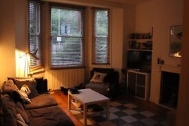 Hey! We are looking for a new flatmate - bright and airy double room 7 mins from Clapham Junction!