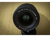Sigma 24-70mm f2.8 EX DG Canonn