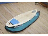 "Custom Surfboard - 7""1"