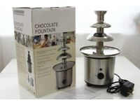 NEW Chocolate Fountain 3 Tier 40cm, Party Chocolate Pot Fondue Melting Machine