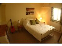 Double room in quiet relaxed family home