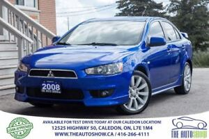 2008 Mitsubishi Lancer GTS | NO ACCIDENT | ONE OWNER