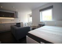 Exclusive Studio Apartment to Rent in Aria Development, Chatham Street - LE1