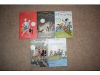 Five Famous Five Books by Enid Blyton - 70th Anniversary Edition. Used but good condition