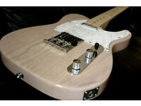 TELECASTER ASH BLONDE MAPLE NECK SOLID ASH