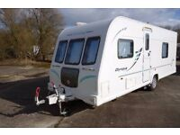2011 Bailey Olympus 504 Touring Caravan - Double Dinette - Powrtouch Motor Mover