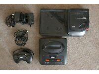 console Sega Mega CD + Megadrive II
