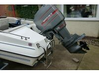 OUTBOARD for sale . MARINER 75hp 2 stroke out board in good working order (Outboard only)