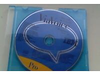 IBM ViaVoice for Win Release 8.01 Professional - Original CDs ONLY - Used