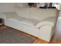 2 seater & 3 seater sofas - very comfortable and great quality but stained! MARLOW