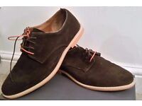 Man's Shoes Catesby Brand Size 8 Brown