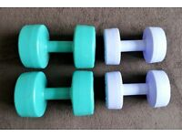 Ladies Weider olympic dumbbell set