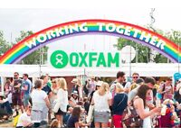Admin Intern in Oxfam Festivals Bristol Team