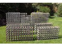 Wine racks for sale, various sizes, hold 60 to 121 bottles. Good condition. Wandsworth