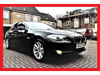 New Shape-- 2010 BMW 5 Series 525D SE Automatic -- Nice CREAM Leather -- Great Spec Part Exchange OK