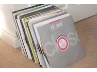 """105 x 12"""" Vinyl Records Collection.. Techno / Electro / Old Skool!!"""