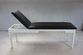 Leather couch with 8 adjustable highs. Perfect for someone starting a new business in any therapy.