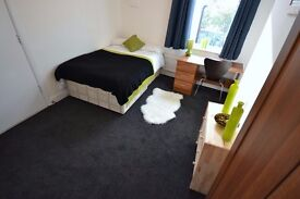 Furnished double room to rent let 2 x toilets Dunkirk Nottingham University All bills included