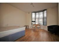 Studio Flat To Let off London Road Leicester LE2 1QG Near Victoria Park Fully Furnished Avail NOW