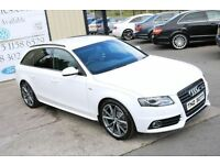 LATE 2010 AUDI A4 AVANT 2.0 TDI S LINE SPEC EDITON 141 BHP BLACK EDITION SPEC (FINANCE & WARRANTY)