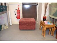 Red Foot Stool GT 544