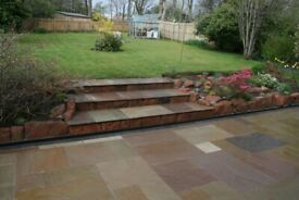 Landscaping fencing and decking