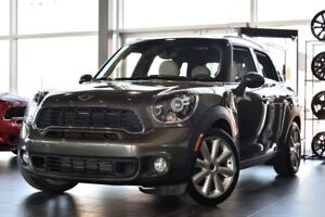2014 MINI Cooper S Countryman AWD + SEULEMENT 27693 KM + CUIR +
