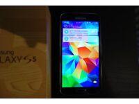 Samsung S5 16gb phone and box
