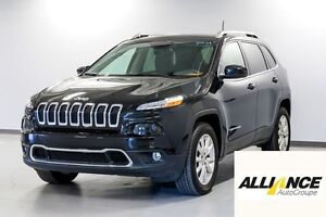 2016 Jeep Cherokee LIMITED MAGS-A/C 2 ZONES-NAVIGATION-CAMÉRA RE