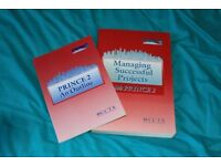 Prince 2 study manuals