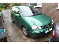 2002 VW Polo S 1.2 6v 55bhp 5 door only 57000 miles (no MOT spares/repair)