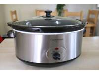 Slow cooker 6.5L **USED ONCE**