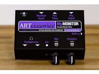 ART MyMONITOR Mini Personal Headphone Monitor Mixer