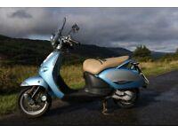 Aprilia Mojito Custom 50 cc scooter 2011