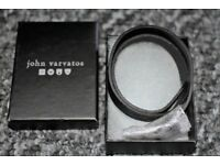 Leather Wrist Band By John Varvatos.