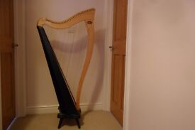 Lever harp, Dusty Springs Ravenna 34 excellent condition