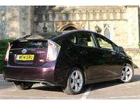 "2014 ""14"" Toyota Prius Hybrid T Spirit UK MODEL Fully Loaded Full Toyota History Never used as Cab"