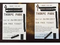 Thorpe Park Tickets