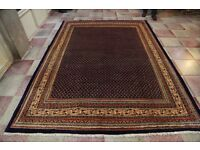 Full room size Persian hand knotted rug ARAK 305x224cm