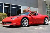 Miniature 1 Voiture Européenne d'occasion Ferrari 458 2014