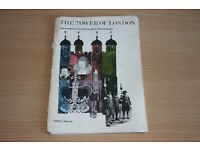 1974 Official Book On The Tower Of London