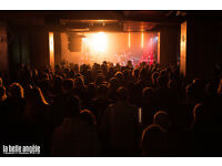 Marketing & Events Manager for live music venue
