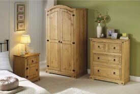 BRAND NEW - LIMITED OFFER! CHRISTMAS SALE Monterrey Stylish 3-Piece Set Solid Pine